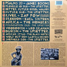 Lee Perry - Voodooism (back cover)