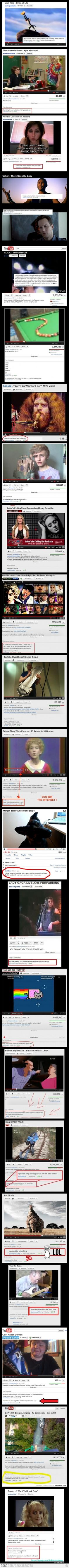 epic youtube comments :)