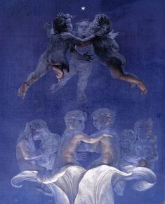 The Great Morning - detail by Philipp Otto Runge
