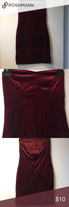 H m red dress 4t