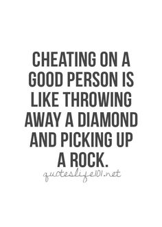 Absolutely love this quote!! U cherish your diamonds not threat with the rarity that they are!