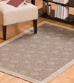 Crypton Rug with Borders