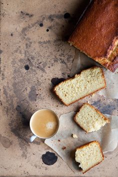 orange cardamom yogurt cake