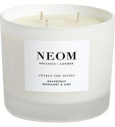 NEOM Candle - Grapefruit, Bergamot and Lime.