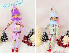 SewLoveLe: Elf on the Shelf Clothes - sewing patterns!