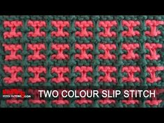 Two-colour Slip Stitch - Pattern #3