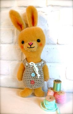 Emily bunny by pussman on Etsy