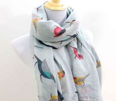 This Scarf   22 Fly Items For The Bird Lover In Your Life