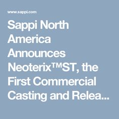 Sappi North America Announces Neoterix™ST, the First Commercial Casting and Release Paper with Sharklet™ Bacteria-Inhibition Technology | Sappi Global