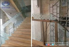 Fresh from site, one of our signature projects for one of the LARGEST Sheraton Hotels in size and facilities, and THE ONLY 5 STAR HOTEL IN SHARJAH☆ Stay tuned to check out the beautiful customized handrail system made specially for this hotel!