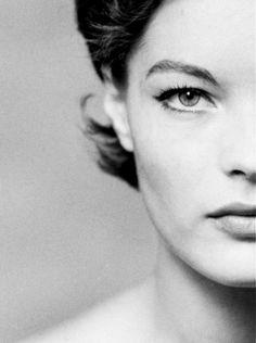 Romy Schneider (1938-1982) photographed by F. C. Gundlach, 1961