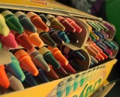 How wonderful are crayons?! by stacey
