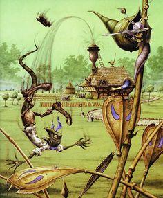 Rodney Matthews | Alice in Wonderland