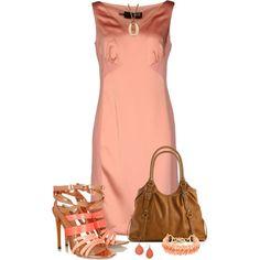 Love Moschino short dress, created by mommygerloff on Polyvore