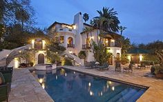 Spanish Colonial Home Architecture | Spanish Colonial-Style mansion of Emmy Award Winning Actor hits the ...