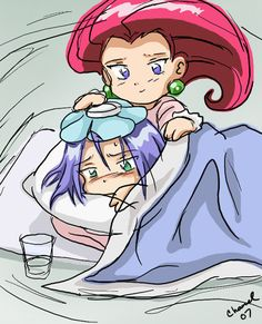 Sick Chibs-Team Rocket by Chamel413.deviantart.com on @deviantART