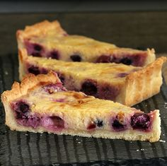 A classic Lemon Blueberry Tart! This is the most deliciously simple dessert... a total crowd-pleaser. Make your own pastry or use store-bought pastry!