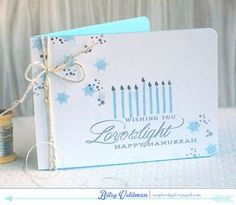 Love & Light Card by Betsy Veldman for Papertrey Ink (October 2014)