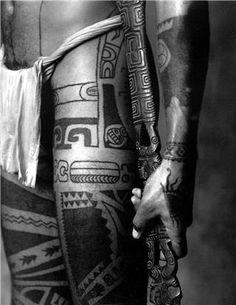 Polynesian skin art