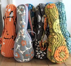 cute uke quilted gig bags