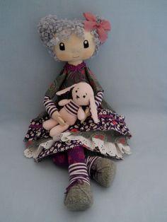 Textile Doll Mona