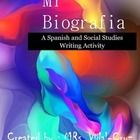 Mi Biografia, is a Spanish and Social Studies writing activity including printables to get to know your students, specially in a cultural diverse classroom.  It is perfect for open house, parent night, or the first semester of school. Mi Biografia, can also be used as a cultural lesson in Social Studies to discover and share the individuality and nationality of your students.  My Best Seller!!!!
