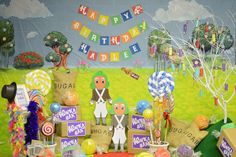 Candy - Willy Wonka Birthday Party Ideas | Photo 30 of 53 | Catch My Party