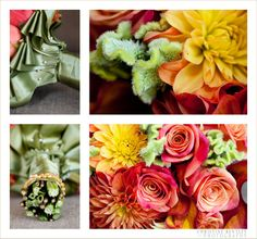 Stunning Ritz Carlton Bridesmaid bouquets by Square Root www.christinebentley.com
