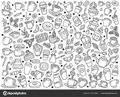 Find vector set of coffee doodle stock vectors and royalty free photos in HD. Explore millions of stock photos, images, illustrations, and vectors in the Shutterstock creative collection. of new pictures added daily. Coffee Doodle, Marvel Wallpaper, Wedding Thank You, Doodle Art, New Pictures, Royalty Free Photos, Doodles, Illustration, Image