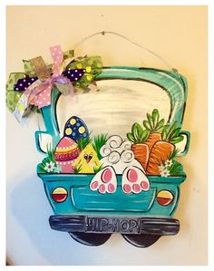 Easter Art, Easter Crafts, Easter Decor, Easter Projects, Bunny Crafts, Easter Bunny, Spring Crafts, Holiday Crafts, Easter Paintings