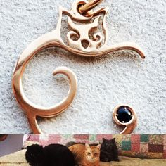 """""""Mi piace"""": 16, commenti: 5 - SJFCompany (@sjfcompany) su Instagram: """"Golden Kitty - Sapphire Stones contact us for catching now info@sjfcompany.it #ordernow…"""""""