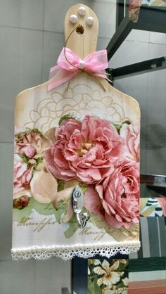 cute shabby chic idea - handmade