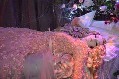 Aurora-Ellie Saab-Harrods Christmas windows - Disney Princesses wearing designer dresses by louisemarston, via Flickr