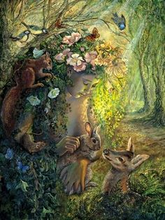 Nature by Josephine Wall