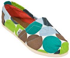 Toms de colores super comodos esos zapatos