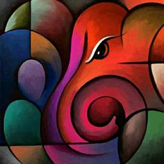 Check out Lord Ganesha In Oil Painting on Shopo… Lord Ganesha Paintings, Ganesha Art, Indian Art Paintings, Modern Art Paintings, Oil Paintings, Oil Pastel Art, Diy Canvas Art, Custom Canvas, Canvas Ideas