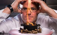 Heston Blumenthal - love his experimental and amazing style of cooking. Figure 6