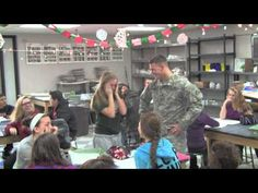 Military Brother surprises his sister - YouTube