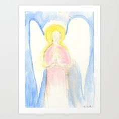 Angel in Pink - $18