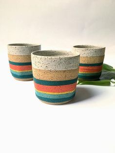 turquoise and red, turquoise and red mugs, speckled mug, speckled potter, Mexican pottery, tea cupsThis set of mugs have been hand formed by me on the potters wheel, from earthy speckled stoneware clay. After bisque firing it has been hand glazed in a beautif