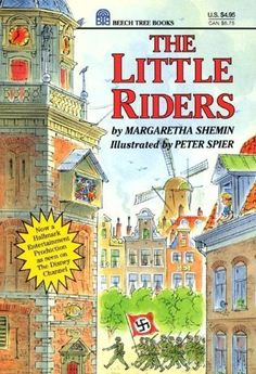 The Little Riders by Margaretha Shemin, http://www.amazon.com/dp/0688124992/ref=cm_sw_r_pi_dp_noRkrb0J8CQZW