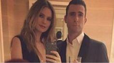 Adam Levine tiene accidente de auto junto a su esposa -...