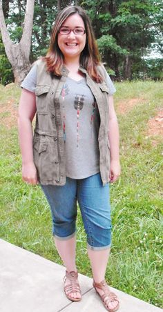 Cannot get enough of that cute and casual cargo vest that Heather of Beyond the Aisle received in her last Fix!