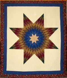 The Cowboy's New Heart Visuals Southwestern Quilts, Southwestern Style, Lone Star Quilt, Star Quilts, New Heart, Log Cabin Quilts, Diamond Quilt, Out Of Style, Quilting Designs