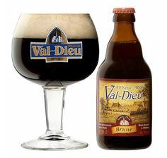 Val-Dieu Brune, Abbey Dubbel 8,0% AVB (Brasserie de l'Abbaye du Val-Dieu, Bélgica)