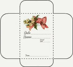 Free Printable Seed Envelope Packets If This Pin Does Not Take You Directly To Glenda