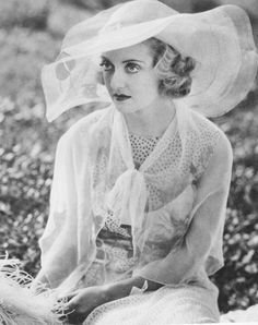 Bette Davis, 1930s her and Lucille Ball would often audition for the same movie parts
