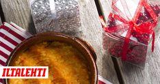 Lanttulaatikko on yksi joulupöydän ehdottomista suosikeista. Kotikokin luotto-ohjeella ensikertalainenkin onnistuu. Cornbread, Salsa, Mexican, Meat, Chicken, Ethnic Recipes, Food, Millet Bread, Salsa Music