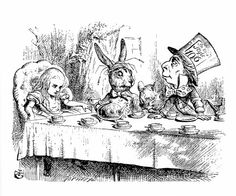 The Alice in Wonderland Cookbook and Lewis Carroll's Guide to Dining Etiquette | Brain Pickings