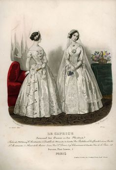 What Are Historical Broads Always Talking About in Fashion Plates?